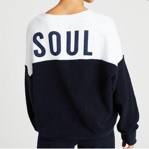 SoulCycle x Sundry Oversized Sweatshirt Sz S